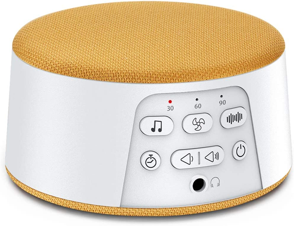 White Noise Machine, Unegroup Sound Machine for Sleeping & Relaxation, 29 HiFi Soothing Nature Sound, Timer Memory Funtion, Volume Control, Sleep Sound Therapy for Home, Office, Travel, Baby, Adults