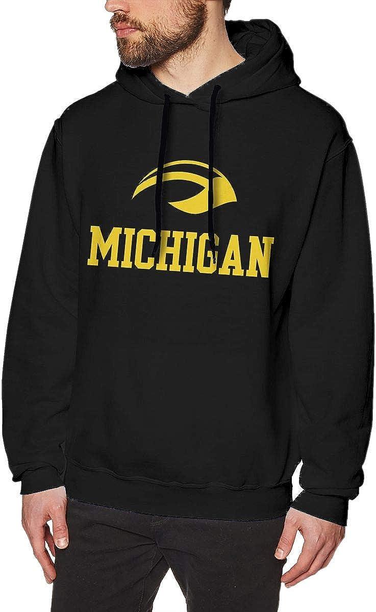 Duan Wuqing Michigan Fashion Mens Hat and Pocketless Sweater Black