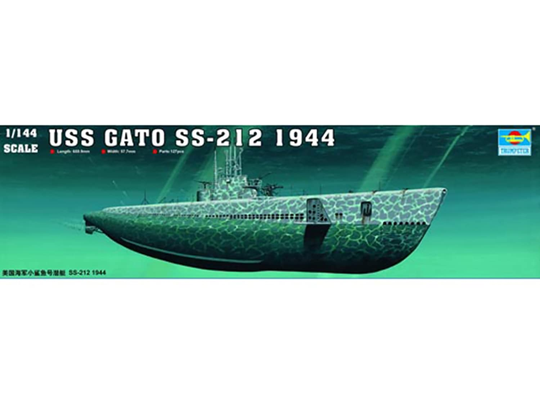 Trumpeter 05905 1//144 USS Gato SS-212 1941 NEW