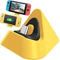 Nintendo Switch Lite Şarj Dock Charging Dock Sarı
