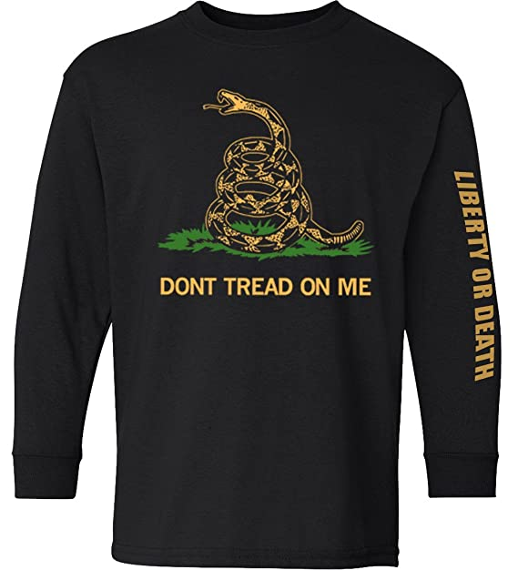 Dont Tread On Me Shirt >> Longsleeve Don T Tread On Me Shirt Black