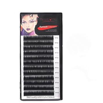 89c1dd56a76 THINKSHOW Eyelash Extensions Natural Long Black Soft Lashes Korea Silk Mink  Fake Eyelashes Volume 3D Individual
