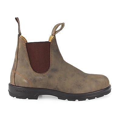 fadd5164e4c Amazon.com: Blundstone Mens 585 Rustic Brown Leather Boots 8 US ...