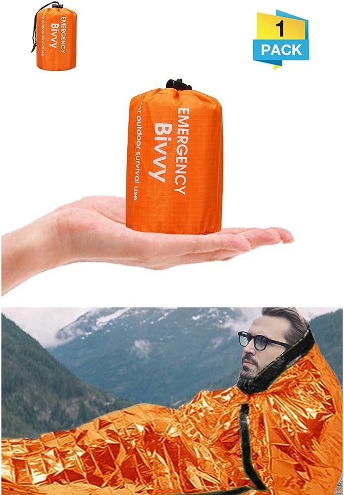 Survival Emergency Envelope Zip Schlafsack Wasserdicht Ultraleicht Wandercamping