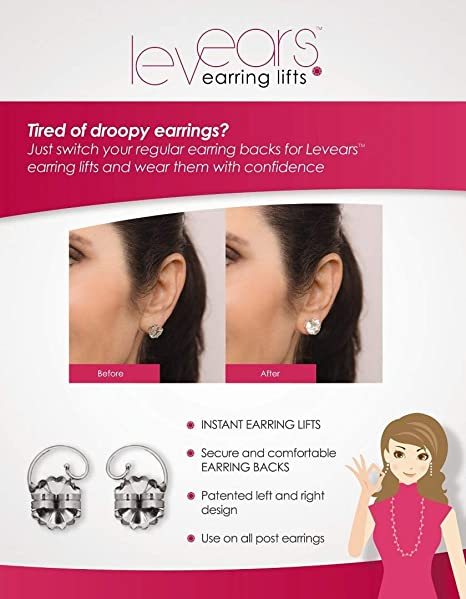 1f9aab1dc Buy Levears Earring Lifts Online at Low Prices in India - Amazon.in