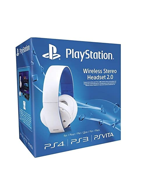 919 opinioni per PS4/PS3/PS Vita/PC: 2.0 Wireless Stereo Headset, Bianco- Special Limited Edition