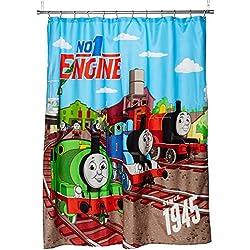 "Mattel Thomas The Tank Engine Fun 70"" x 72"" Standard Shower Curtain"