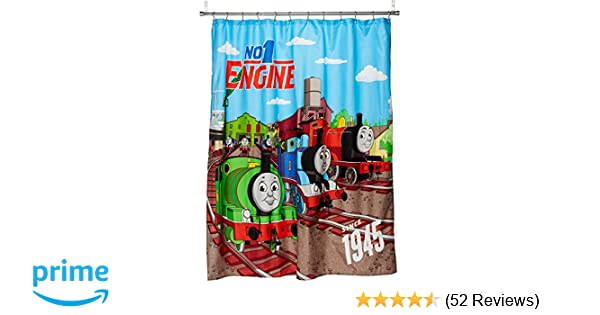 Amazon Mattel Thomas The Tank Engine Fun 70 X 72 Standard Shower Curtain Home Kitchen