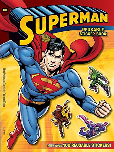 Superman Classic: The Superman Reusable Sticker Book