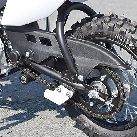 Moto Dirt Bike niño 90 cc 4T Semi-Auto - naranja, con montaje, verificación y ensayo en taller: Amazon.es: Coche y moto