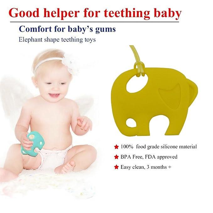 INCHANT para niños juguetes para la dentición Con Chupete clip ...
