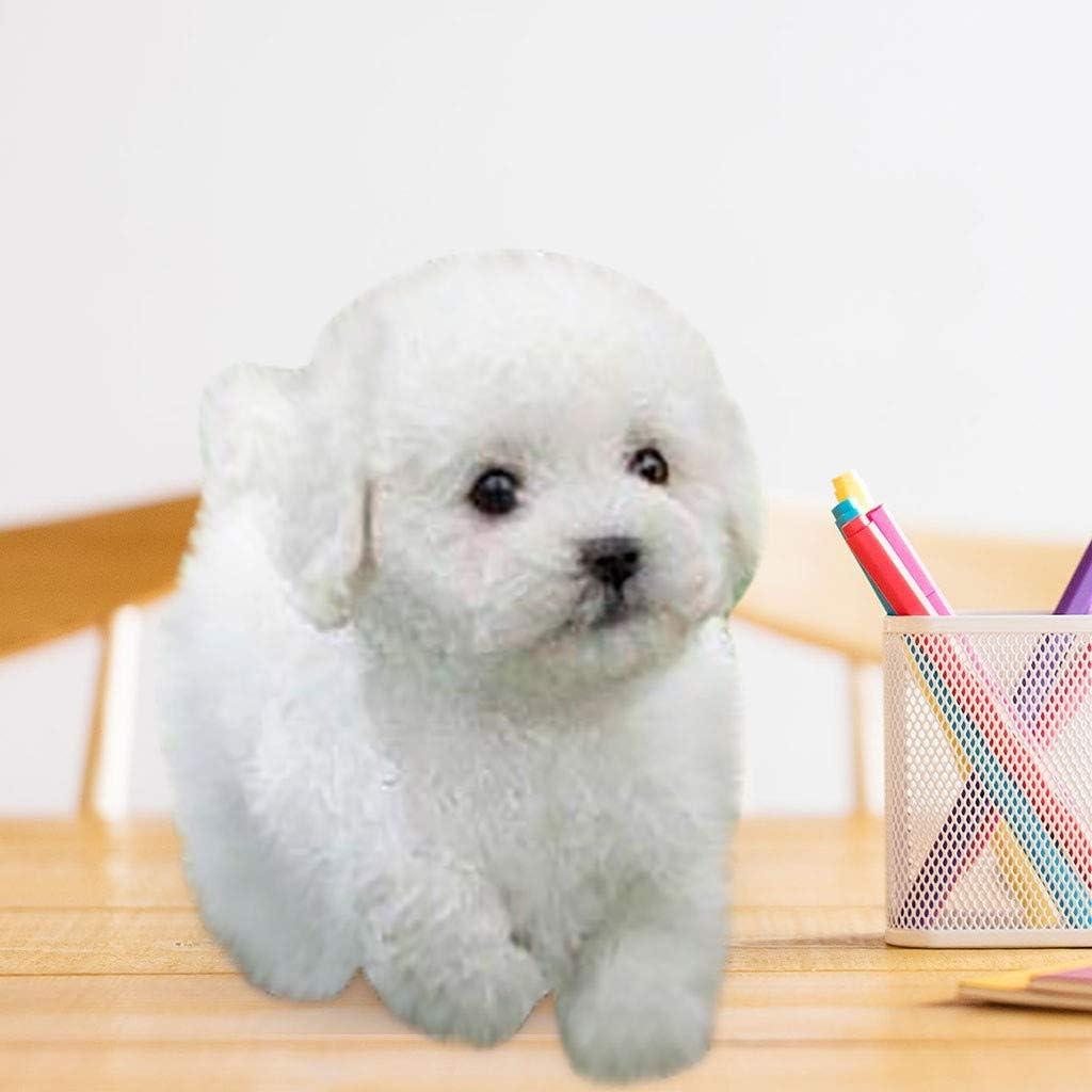 mignon Teddy Poodle Dog Doll Lomsarsh Simulation Teddy Dog peluche poup/ée peluche peluche chien Ragdoll Cadeaux danniversaire de No/ël pour les enfants A