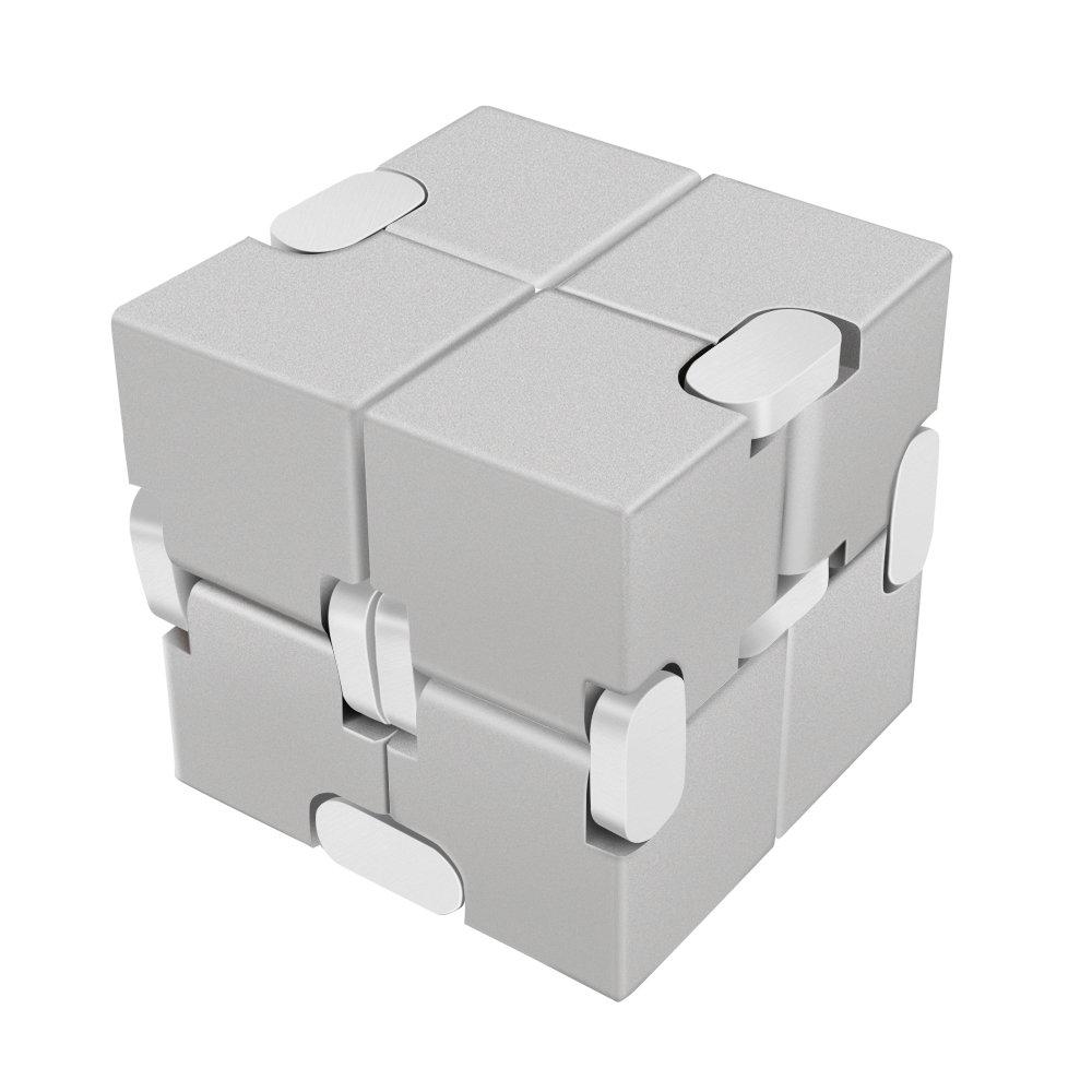 値引きする LilBit 無限キューブ ゲーム B073W9Q2ZC FCS1 金属製 アルミニウム合金 プレッシャー軽減 教育玩具 ストレス緩和 おもちゃ ゲーム 四角 立方体 大人 子どもに シルバー FCS1 B073W9Q2ZC, ソサイアティ&ソル03:13b4b48b --- a0267596.xsph.ru