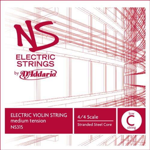 c Violin Single Low C String, 4/4 Scale, Medium Tension ()