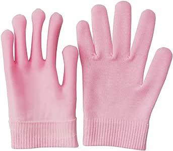 Pinkiou Guantes hidratantes Gel interior para suavizado y blanqueamiento de manos (rosa)