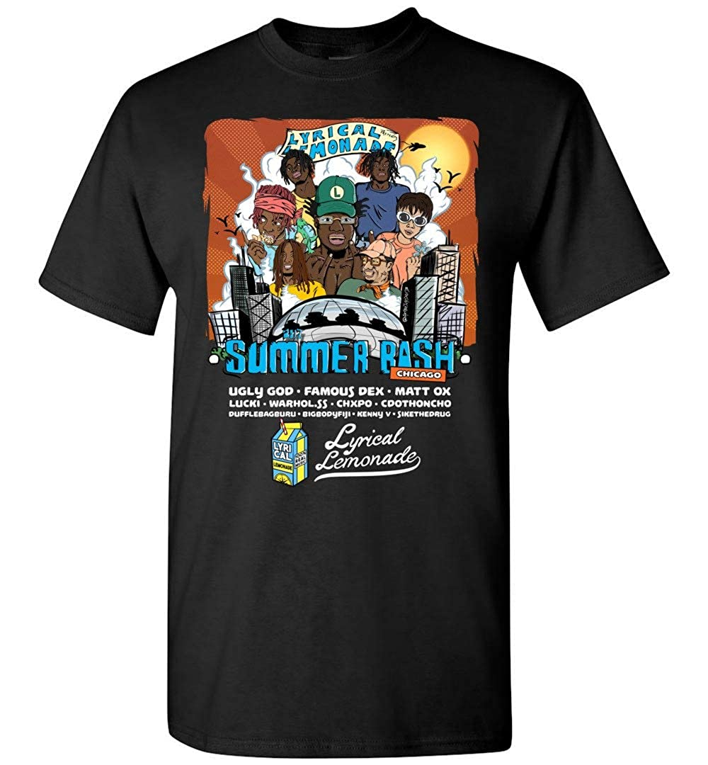 ZOZATEE Lyrical Lemonade Summer Bash Chicago Unisex Hoodie /& T Shirt