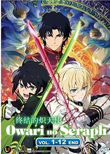 Owari no Seraph Ep 1-12 Japanese Anime / ENGLISH SUBTITLE