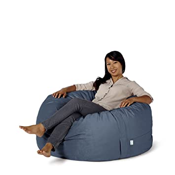 Perfect Take Ten Medium 40u201d Luxury Bean Bag Chair U2013 Multiple Colors / Seats 1 Adults