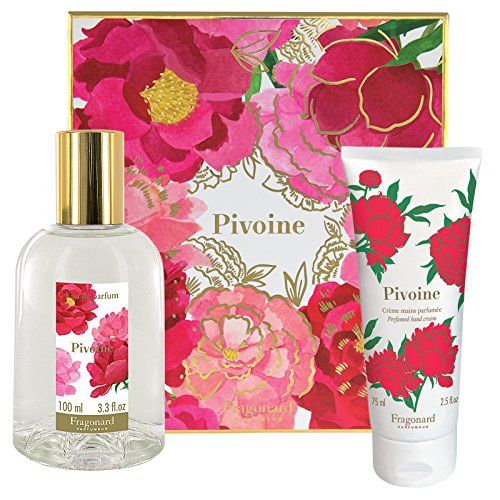 Mimosa Cream Perfume (Fragonard Parfumeur Pivoine Eau de Parfum and Hand Cream Duo - 2 pcs)