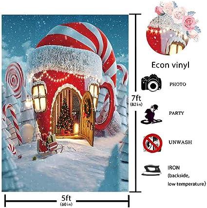 Lustiger Weihnachts Hintergrund 2018 Stil 19 Thin Vinyl 7ft By 5ft