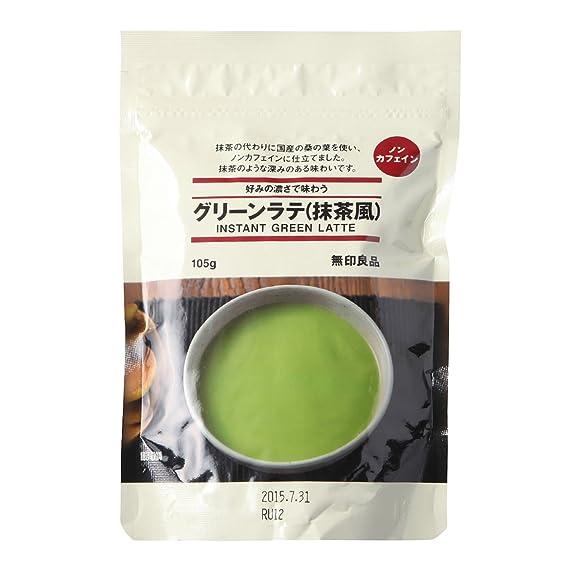 無印良品 まとめ買い 好みの濃さで味わう グリーンラテ(抹茶風) 105g
