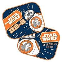 Disney 9315 Sonnenschutz-Vorhänge BB8 Star Wars