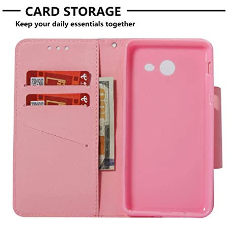 Galaxy J5 2017/J520 Case,Premium 3D Printing PU Leather Full Protective Case Inner Soft Bumper Drop Proof Durable Slim Card Holder Kickstand Case for ...