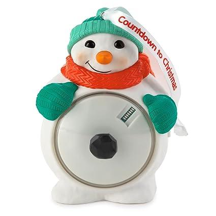 countdown to christmas snowman ornament 2015 hallmark - Countdown To Christmas 2015