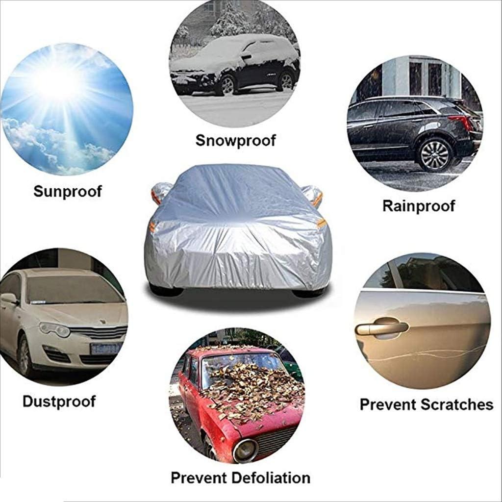 Habillement de Voiture b/âche Respirante Respirante de Protection Solaire UV imperm/éable au Vent de Protection Contre la poussi/ère Compatible avec la Couverture de Voiture BMW
