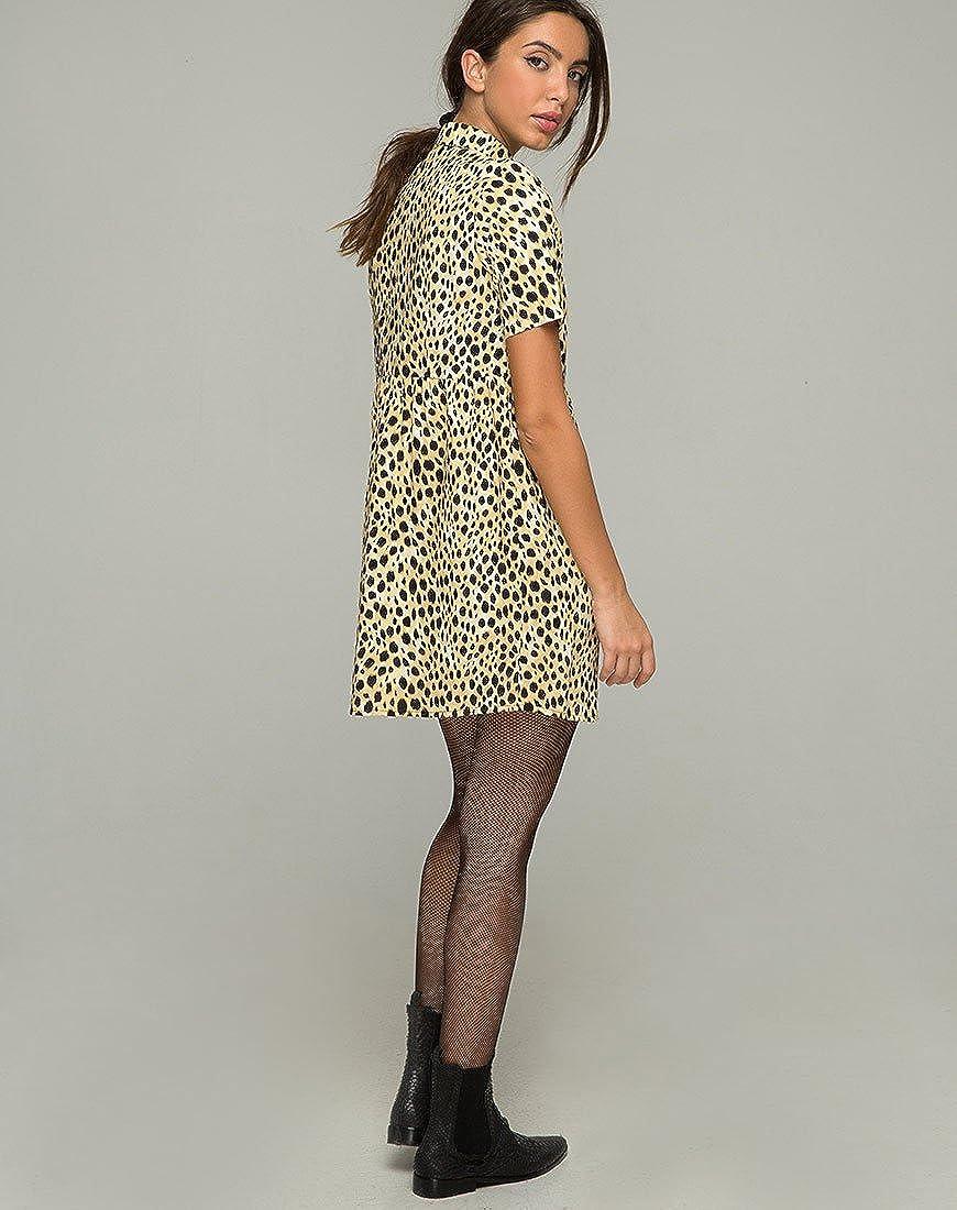 93c66c47fba0 Motelrocks - Metis Dress in Cheetah by Motel: Amazon.co.uk: Clothing