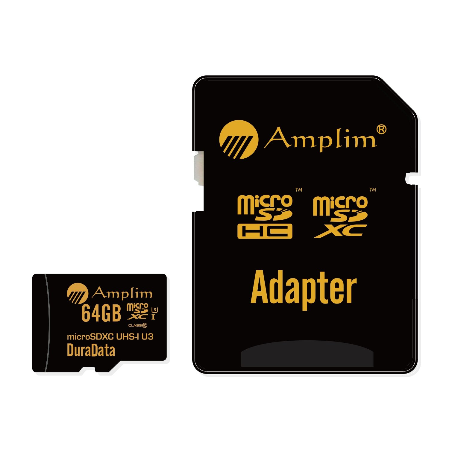Amplim 64GB Micro SD SDXC V30 A1 Memory Card Plus Adapter Pack (Class 10 U3 UHS-I MicroSD XC Extreme Pro) 64 GB Ultra High Speed 667X 100MB/s UHS-1 TF MicroSDXC 4K Flash - Cell Phone, Drone, Camera by Amplim (Image #4)