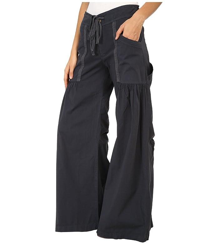 26b1ffff97ed08 XCVI Womens Willowy Wide Leg Stretch Poplin Pant at Amazon Women's Clothing  store: