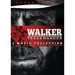 Walker Texas Ranger: Four Movie Collection: Warzone, Flashback, Standoff, Whitewater