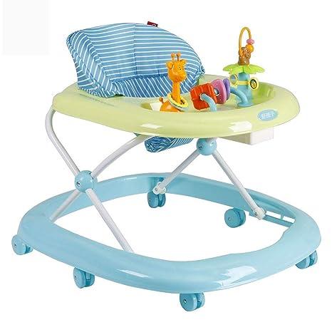 Andadores Andador para bebés, 6 ruedas, multifunción ...