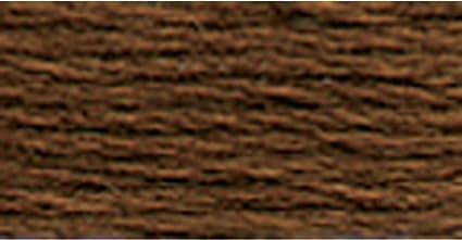 Hilo de algodón Perle DMC Talla 5-801 Marrón