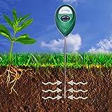 XLUX T10 Soil Moisture Sensor Meter - Soil Water Monitor Hydrometer for Gardening Farming No Batteries Required