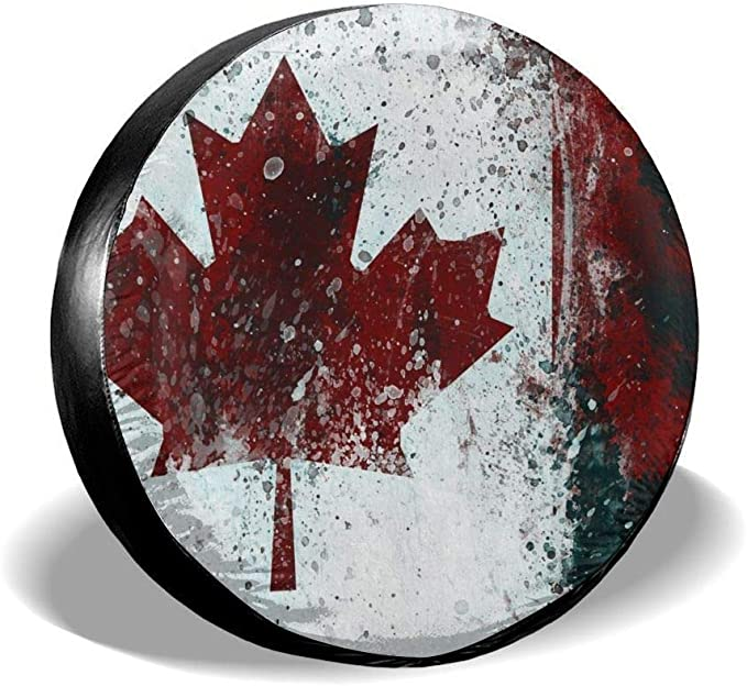 Jemeira Atwood Fort-Wilderness Spare Tire Cover Waterproof for Jeep,Trailer,RV,SUV,Truck and Other Vehicles