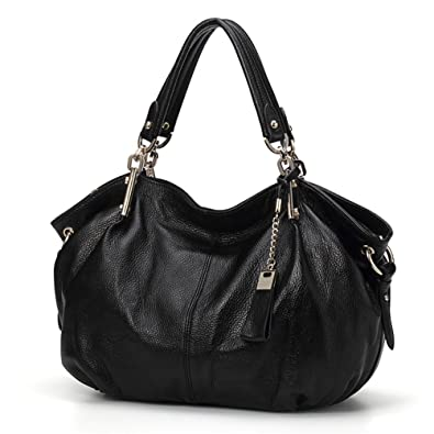 Amazon.com  Qiwang Women Handbag New Office Lady Simple Style Fashion Tote  Top Handle Shoulder Cross Body Bag Satchel Purse (black)  Shoes f6325dbe2d31d