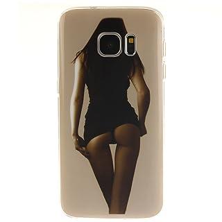 ecoway Carcasa/Cover/Case Multicolor Suave TPU Teléfono Móvil Transparente Transparente Funda Cover Protective Shell Soft Carcasa Teléfono Buzón