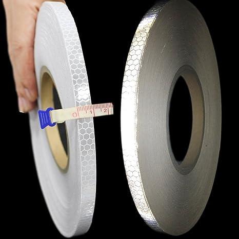 Reflektierendes Klebeband AUTO Intensität Selbstklebend Sicherheitsband 5M*1cm#