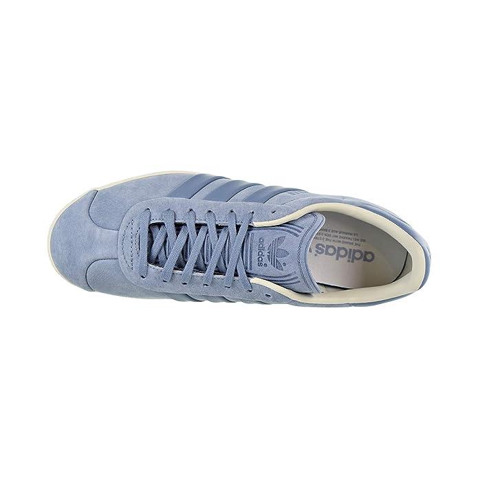 Details about Adidas Gazelle Stitch And Turn Mens Shoes Raw GreyRaw GreyOff White b37813