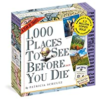 Deals on 1000 Places to See Before You Die Page-A-Day Calendar 2019