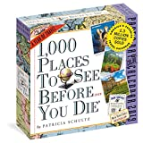 Book cover from 1,000 Places to See Before You Die Page-A-Day Calendar 2019 by Patricia Schultz