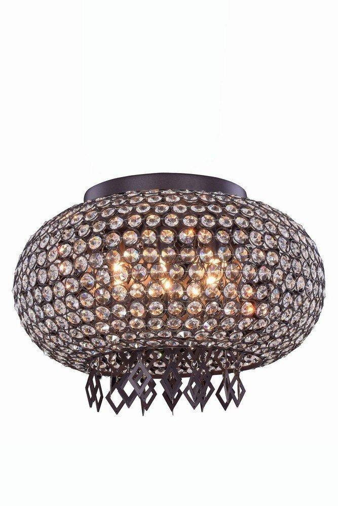 エレガントな照明2106df18mdb / RC Bridaコレクションペンダント/フラッシュマウントd17.5