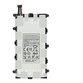 3.7V 14.8Wh 4000mAh SP4960C3B batería del ordenador portátil para Samsung GALAXY TAB 2 7.0 GT-P3100 P3110 GT-P3113 P6200: Amazon.es: Electrónica