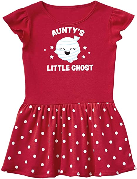 inktastic Cute Aunties Little Ghost with Stars Baby T-Shirt