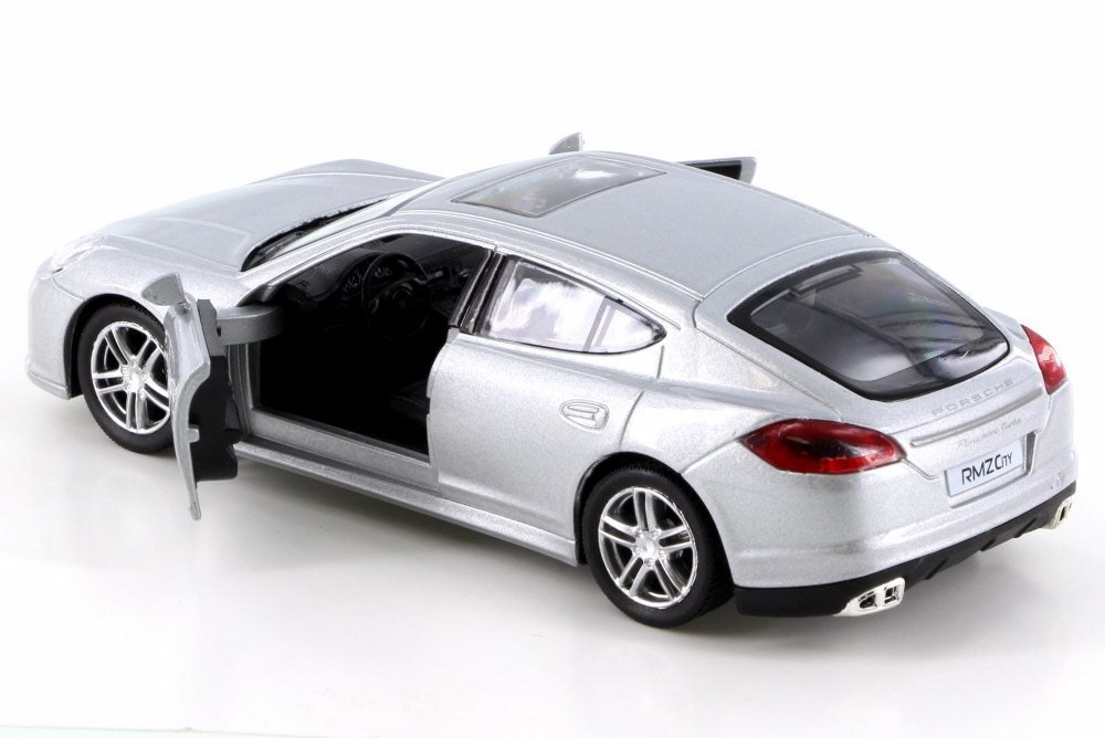 Amazon.com: RMZ City Porsche Panamera Turbo, Silver 555002 - Diecast Model Toy Car but NO BOX: Toys & Games