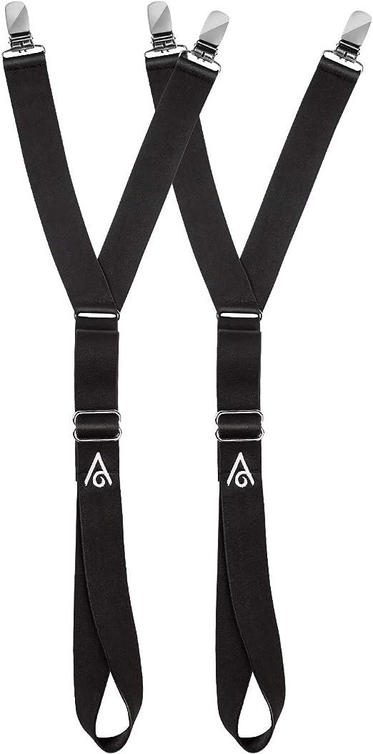 Sock Holder Men/'s Garter Socks Extra Longer Model 25 Dark Green