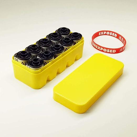 FidgetFidget 135 - Caja rígida de plástico para 10 rollos de 135 ...