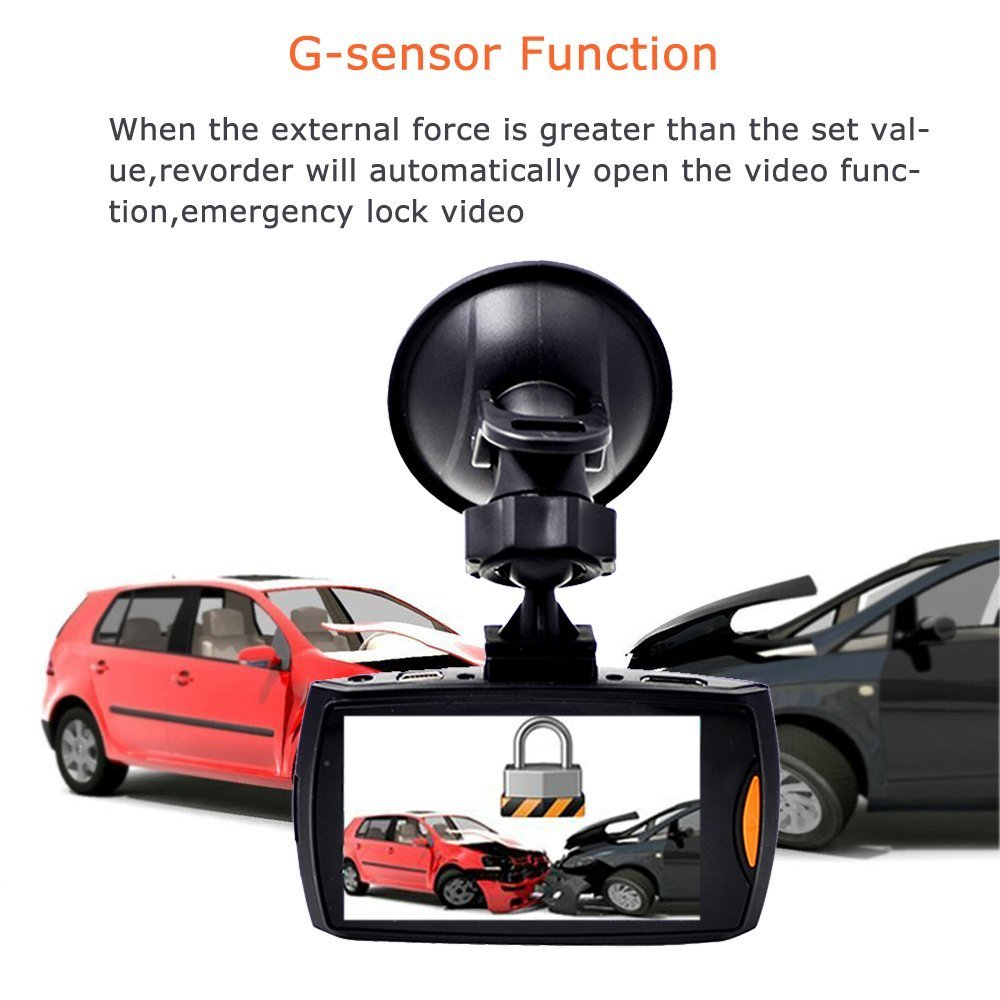 2 7 1080p hd dual lens in car dash camera video amazon co uk electronics